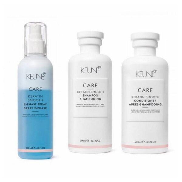 Rinkinys su keratinu Keune Care Trio Spray