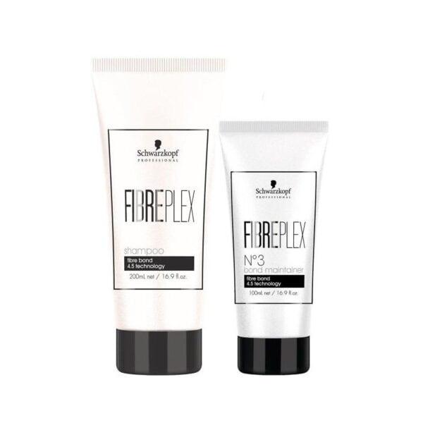 Rinkinys plaukų atkūrimui Schwarzkopf Fibreplex Duo