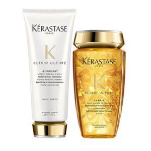 Rinkinys visų tipų plaukams Kerastase Elixir Ultime Duo