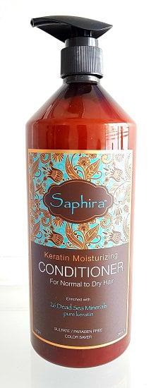 Drėkinamasis kondicionierius su keratinu Saphira 1L
