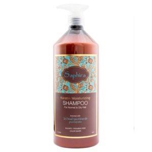 Drėkinamasis šampūnas su keratinu Saphira 1L