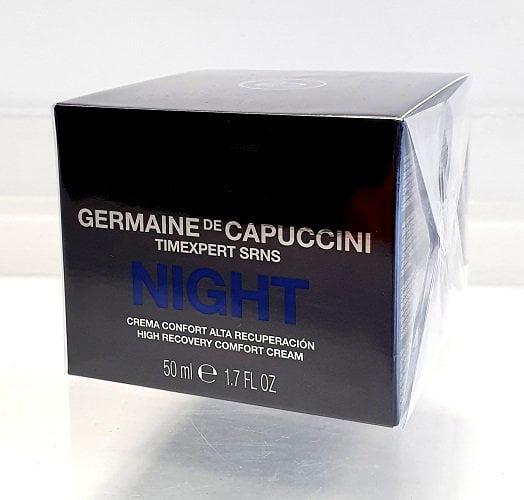 Germaine de Capuccini Intensyvus atstatomasis naktinis kremas