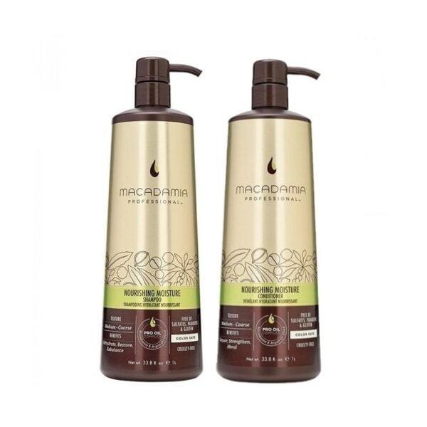 Rinkinys maitinantis plaukus Macadamia Nourishing Duo XL