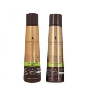 Rinkinys pažeistiems plaukams Macadamia Ultra Rich Duo