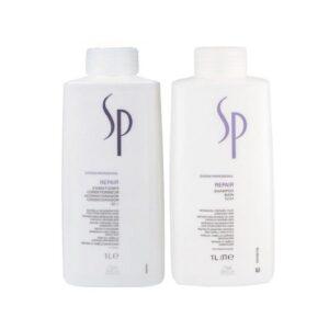 Rinkinys pažeistiems plaukams Wella SP Repair Duo XL