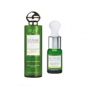 Rinkinys plaukų drėkinimui Keune So Pure Duo Oil