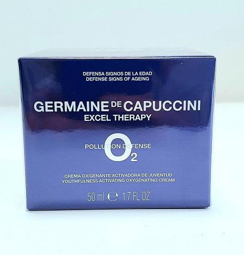 Veido kremas su deguonimi Germaine de Capuccini