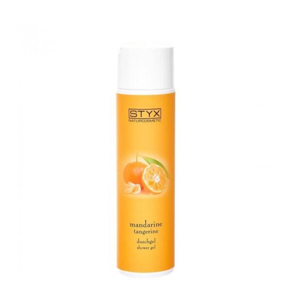 Dušo gelis su mandarinų ekstraktu STYX 250ml