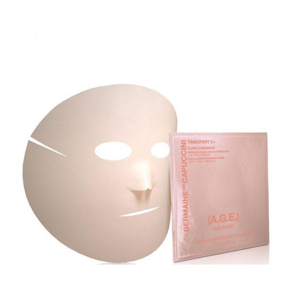Koreguojanti veido kaukė su vitaminu C Germaine de Capuccini