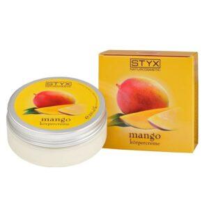 Kūno kremas su mangų ekstraktu STYX 200ml
