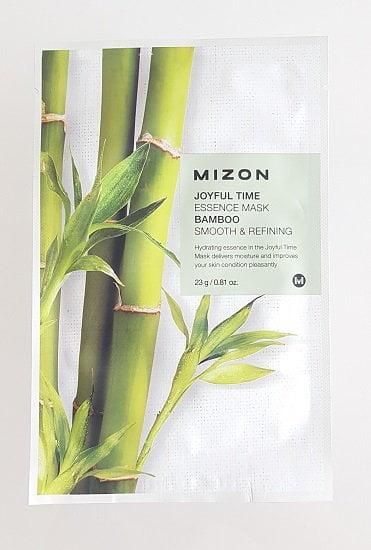 Valanti ir drėkinanti lakštinė veido kaukė su bambuko ekstraktu