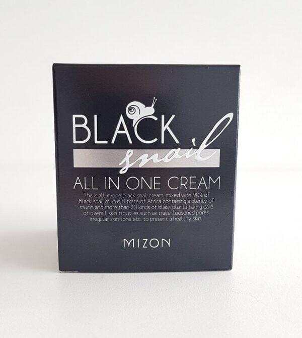 Veido kremas su juodųjų sraigių ekstraktu Mizon