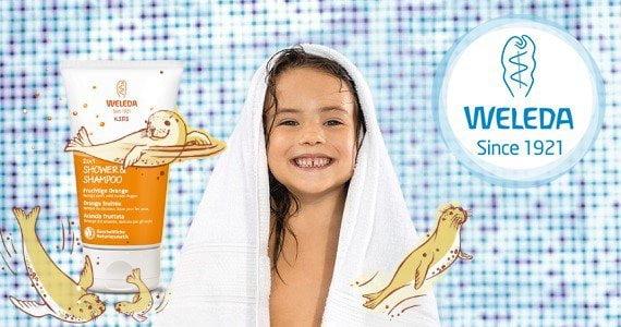 Akcija Weleda vaikų higienos priemonėms