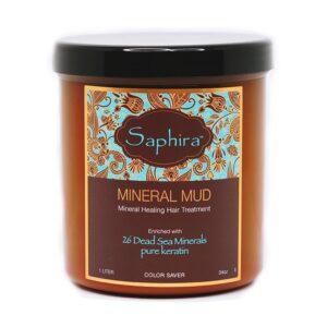 Drėkinamasis mineralinis purvas plaukams Saphira 1000ml