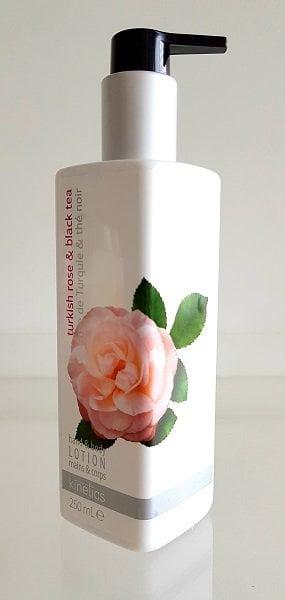 Losjonas rankoms ir kūnui Kinetics turkiškų rožių ir juodos arbatos kvapo 250ml