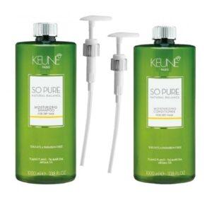 Rinkinys plaukų drėkinimui Keune So Pure Duo XL