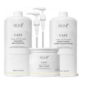 Rinkinys sausiems plaukams Keune Care Trio XL