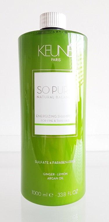 Šampūnas skatinantis plaukų augimą Keune So Pure Energizing 1L