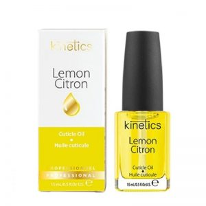 Nagų odelių aliejus su citrinų ekstraktu Kinetics Cuticle Oil Lemon 15ml