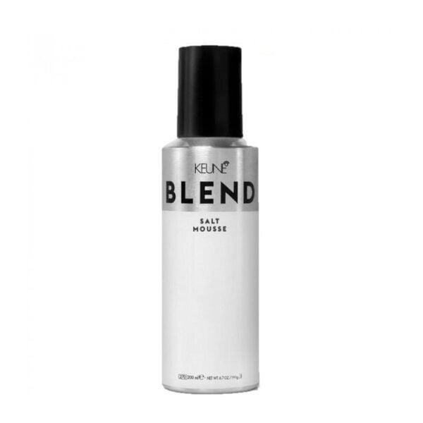Putos plaukų apimčiai ir tekstūrai su druska Keune Blend Salt Mousse 200ml
