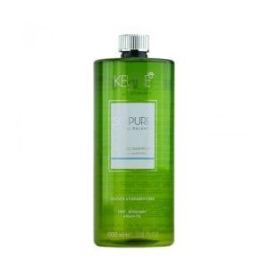 Šampūnas riebiems ir silpniems plaukams Keune So Pure Cooling 1L
