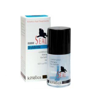 Stipriklis sausiems ir trapiems nagams Kinetics Nano Seal Dry & Brittle 15ml