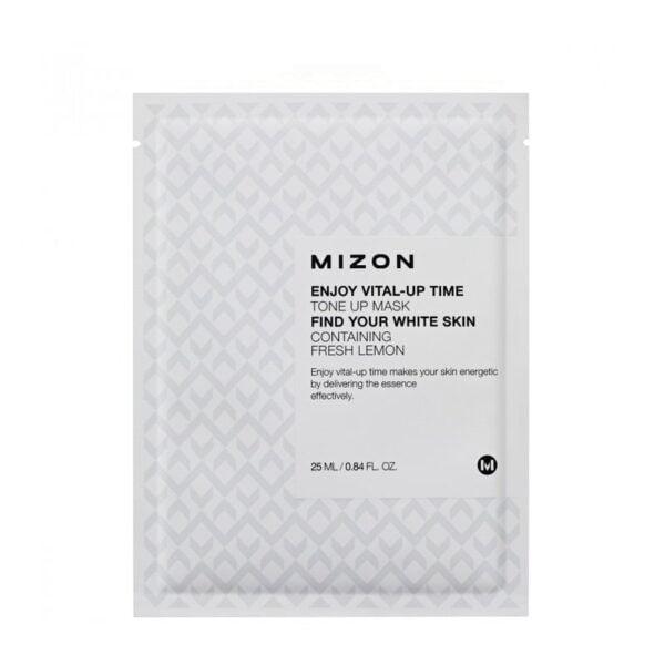Tonizuojanti lakštinė veido kaukė Mizon Enjoy Vital-Up Time Tone Up 1 vnt.