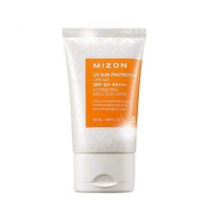 Vėsinantis kūno losjonas nuo saulės SPF50 Mizon UV Sun Protector Cooling 50ml