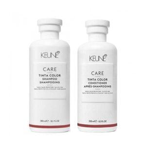 Rinkinys dažytų plaukų priežiūrai Keune Care Tinta Color Duo