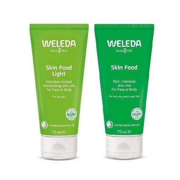 Rinkinys kūno odai maitinti Weleda skin food duo