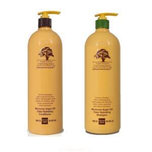 Rinkinys plaukų drėkinimui Arganmidas Duo XL (1000ml + 1000ml)