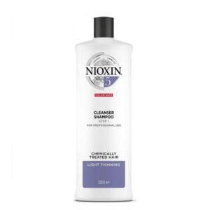 Šampūnas slenkantiems plaukams Nioxin nr.5 1000ml CHEMIŠKAI PAŽEISTIEMS – SILPNAI SLENKANTIEMS