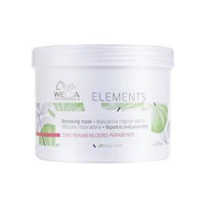 Atkuriamoji plaukų kaukė be parabenų Elements 500ml, Wella Professionals