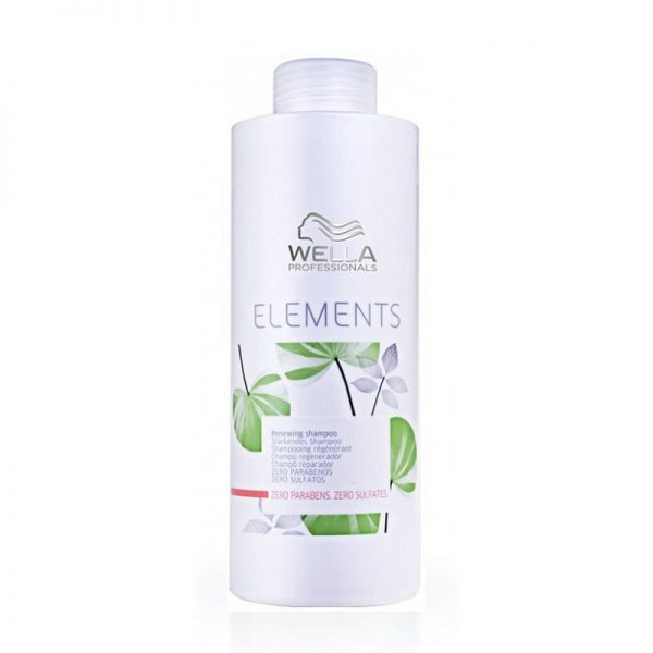 Atkuriamasis šampūnas be sulfatų ir parabenų Elements 1000ml, Wella Professionals