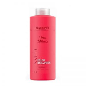 Balzamas dažytiems normaliems ir ploniems plaukams Wella Invigo Color Brilliance 1000ml
