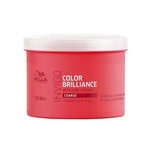 Kaukė dažytiems šiurkštiems plaukams Wella Invigo Color Brilliance 500ml