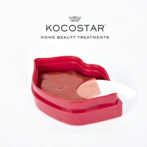 Hidrogelio lūpų kaukės KOCOSTAR Romantic Rose