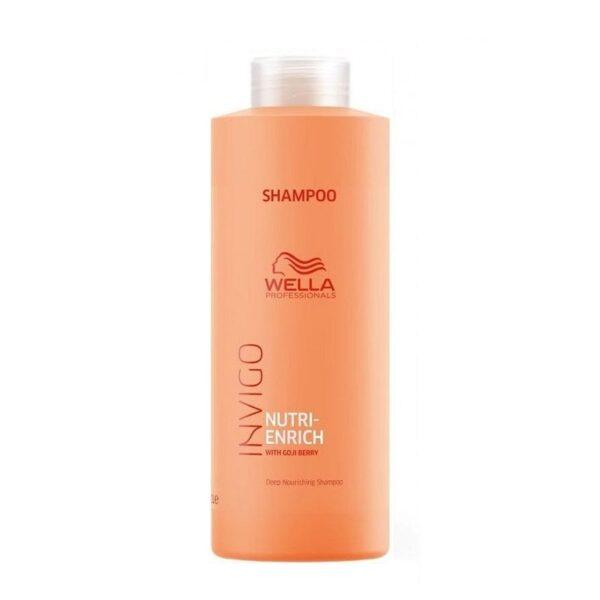 Maitinamasis šampūnas su ožerškio uogomis Wella Nutri-Enrich 1000ml