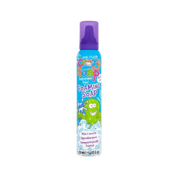 Mėlynos muilo putos Kids Stuff Crazy Foaming Soap 225ml