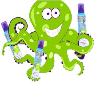 Mėlynos muilo putos Kids Stuff Crazy Foaming Soap