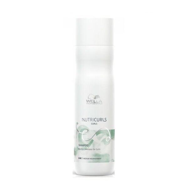 Micelinis šampūnas garbanotiems plaukams Wella NutriCurls 250ml