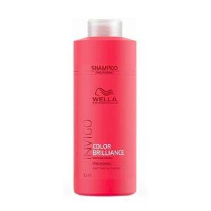 Šampūnas dažytiems normaliems ir ploniems plaukams Wella Invigo Color Brilliance 1000ml