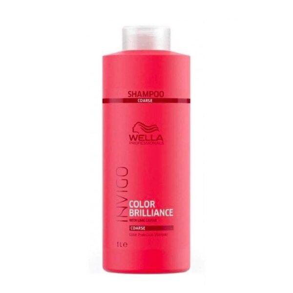 Šampūnas dažytiems šiurkštiems plaukams Wella Invigo Color Brilliance 1000ml