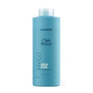 Valomasis šampūnas su lotoso ekstraktu Wella Invigo Aqua Pure 1000ml
