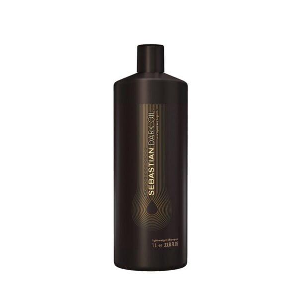 Neapsunkinantis plaukų šampūnas Sebastian Dark Oil 1L