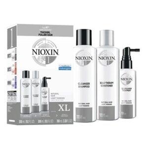 Rinkinys slenkantiems plaukams Nioxin Nr.1 XL