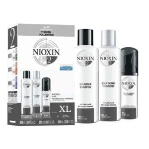 Rinkinys slenkantiems plaukams Nioxin Nr.2 XL