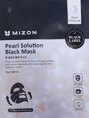 Skaistinanti lakštinė veido kaukė Mizon su perlais