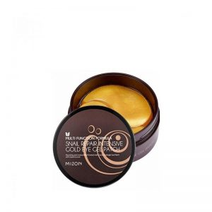 Hidrogelio paakių pagalvėlės Mizon Snail Repair Intensive Gold Eye Gel Patch 60vnt.