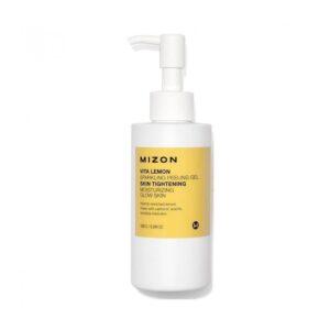 Valomasis veido odos gelis-šveitiklis Mizon Vita Lemon Sparkling Peeling Gel 150ml